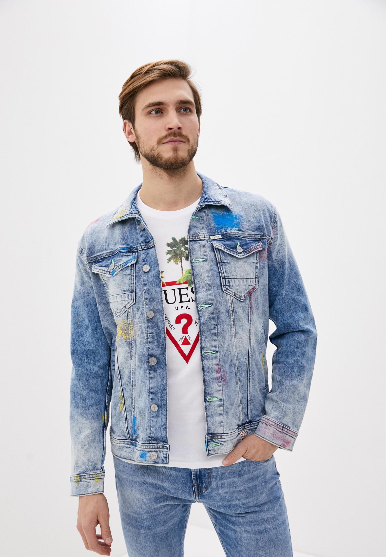 Джинсовая куртка Guess Jeans M0GN14 D3Y9E