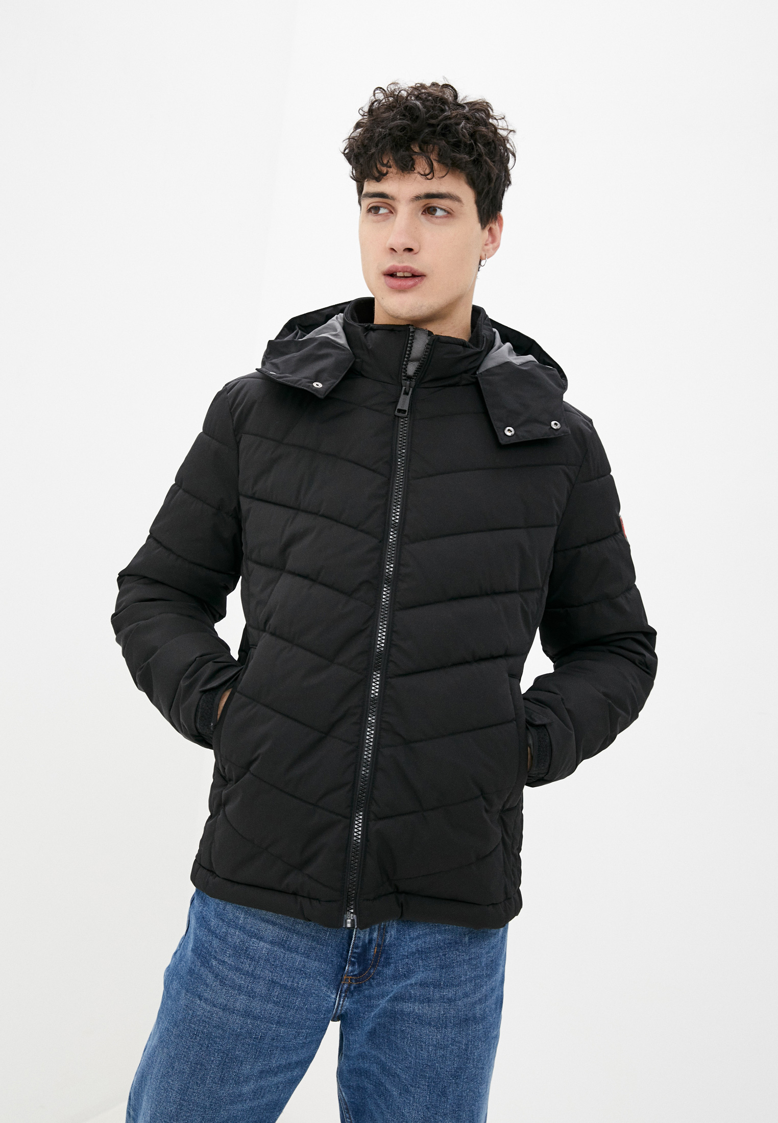 Утепленная куртка Guess Jeans M0BL50 WD990
