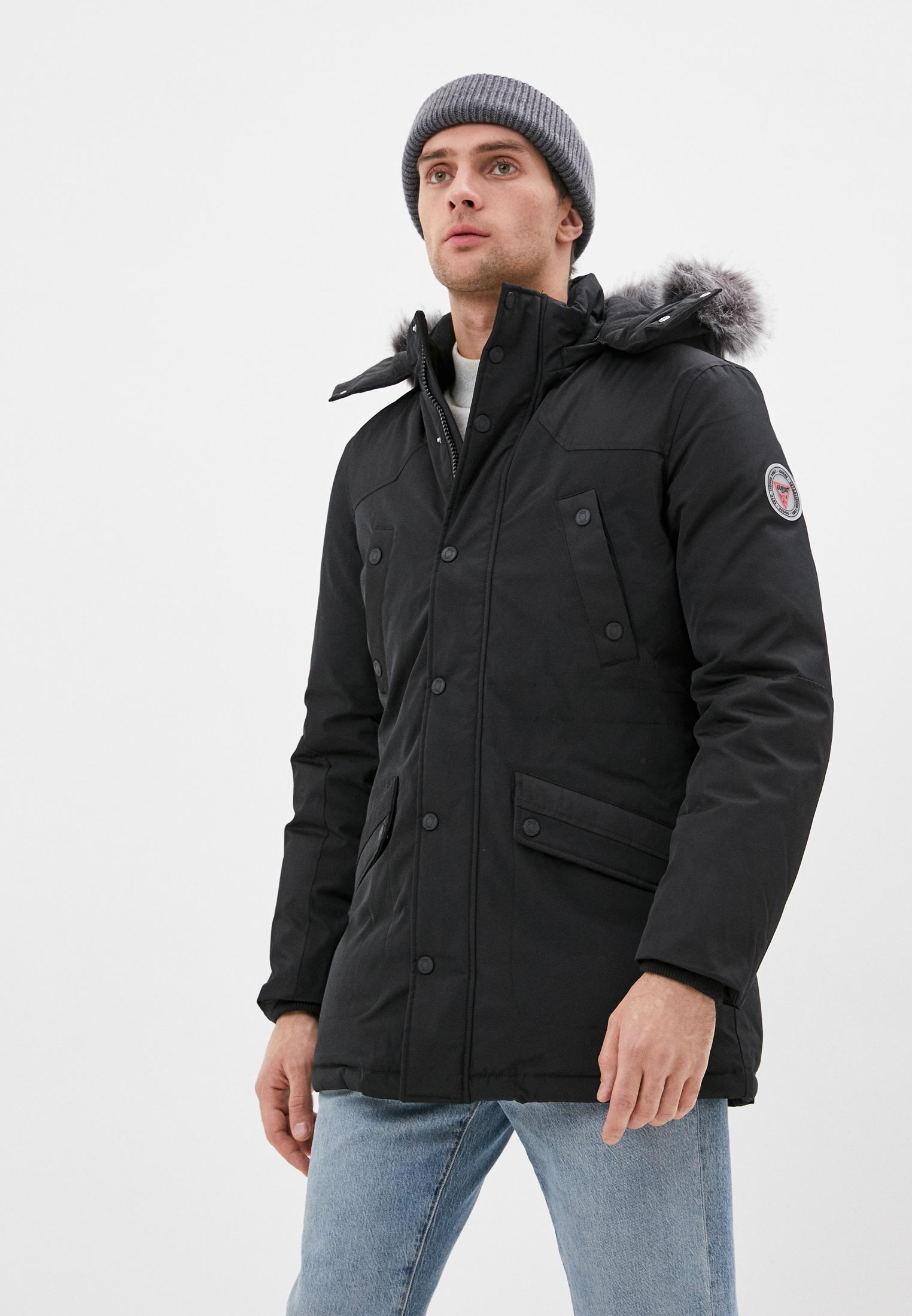 Утепленная куртка Guess Jeans M0BL64 WDA60