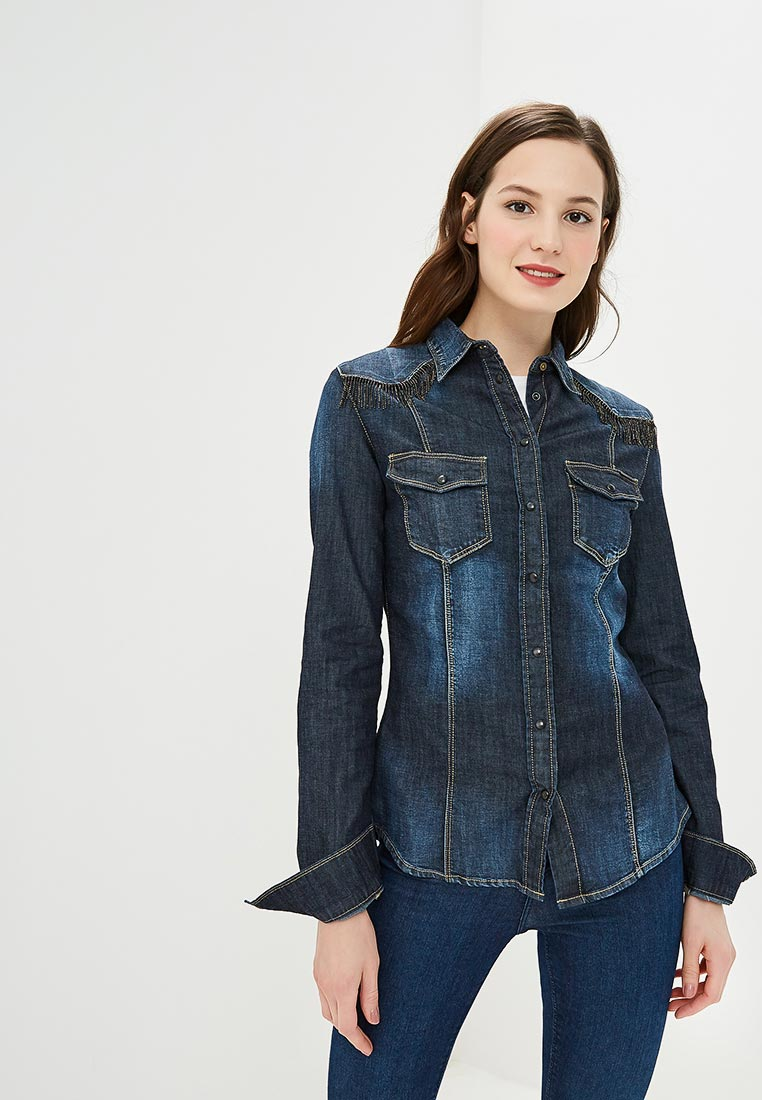 Женские джинсовые рубашки Guess Jeans W83H11 D28Y1