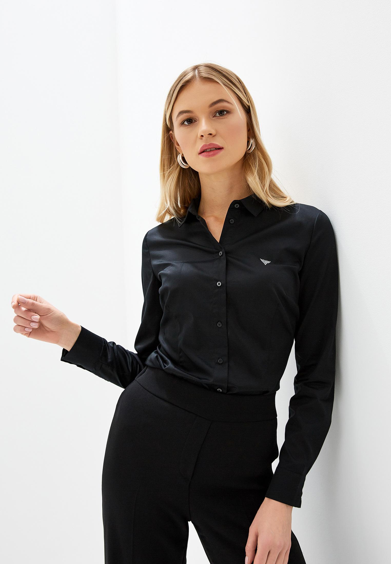 Женские рубашки с длинным рукавом Guess Jeans W93H41 WAF10