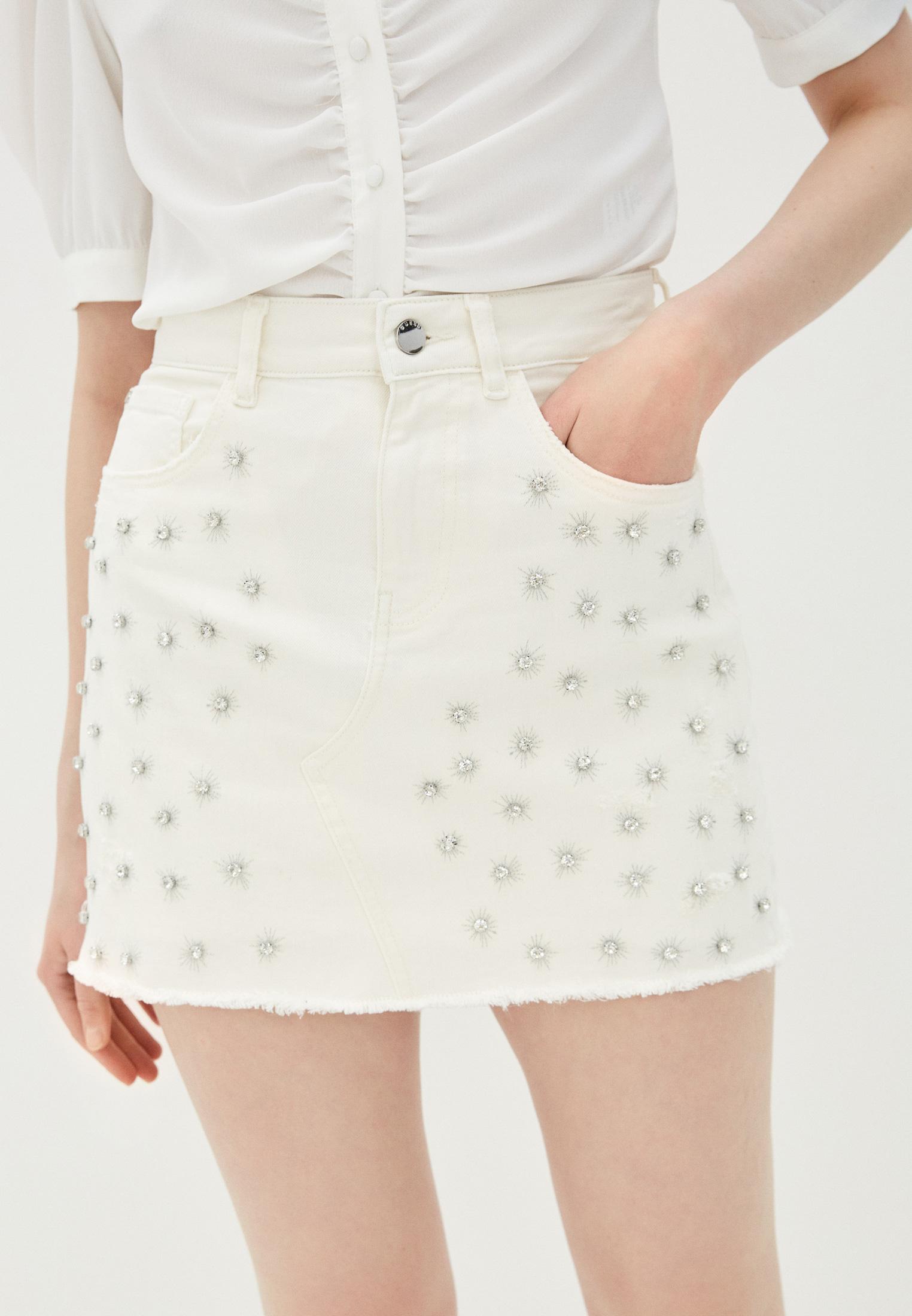 Джинсовая юбка Guess Jeans w02d92 d2g6j