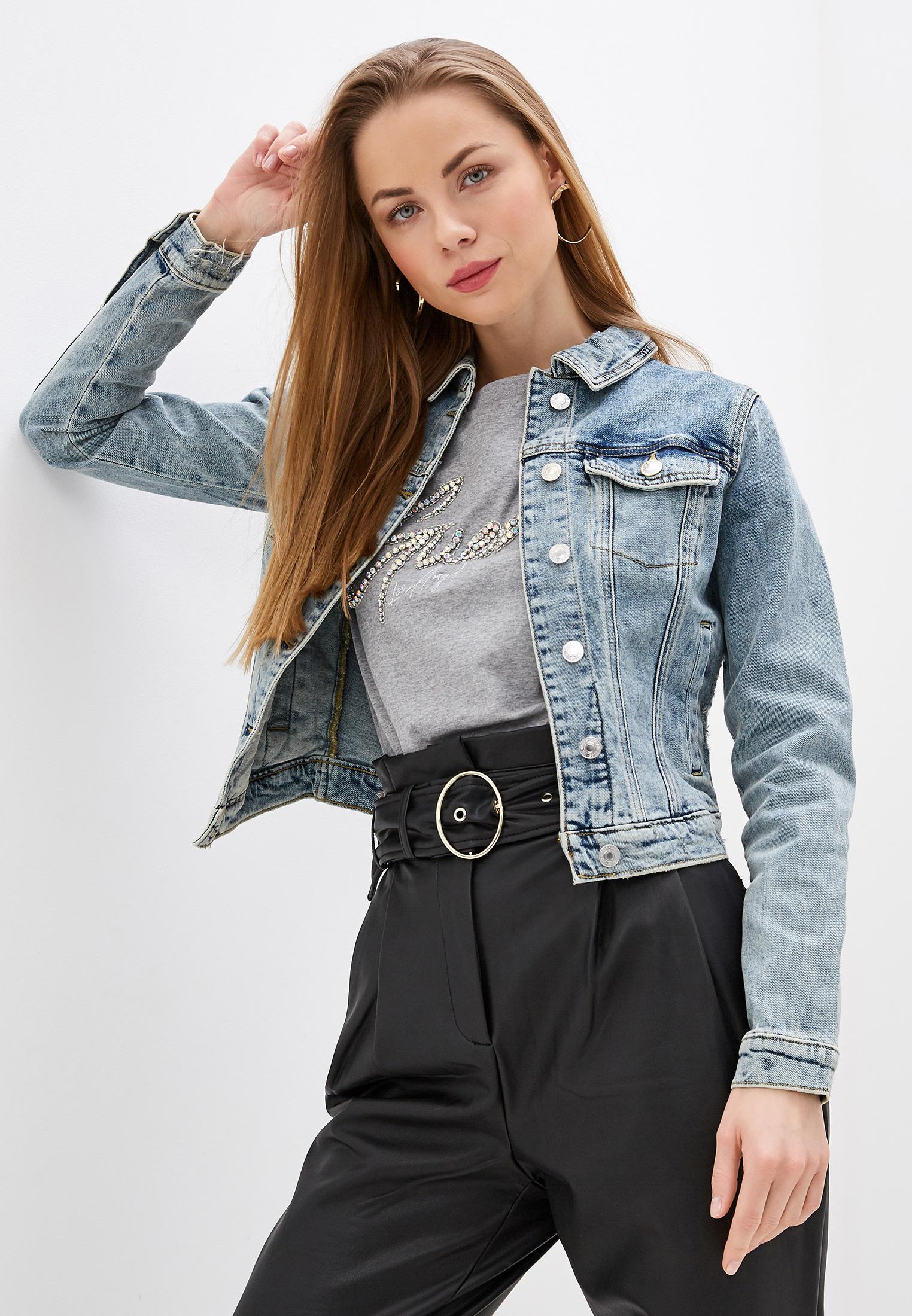 Джинсовая куртка Guess Jeans w01n0e d3ve1