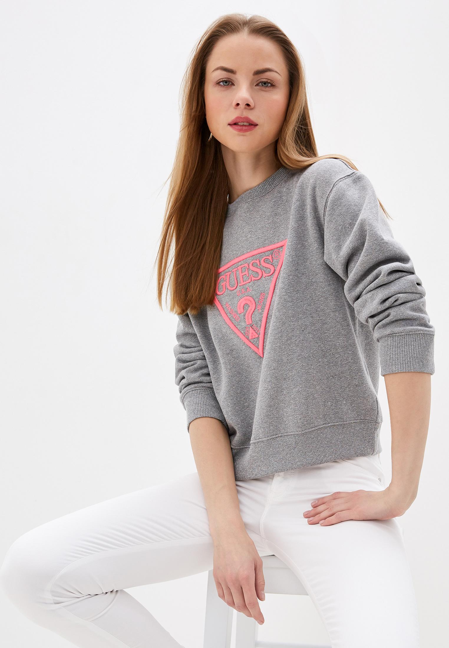 Женские свитшоты Guess Jeans w01q56 k68i0