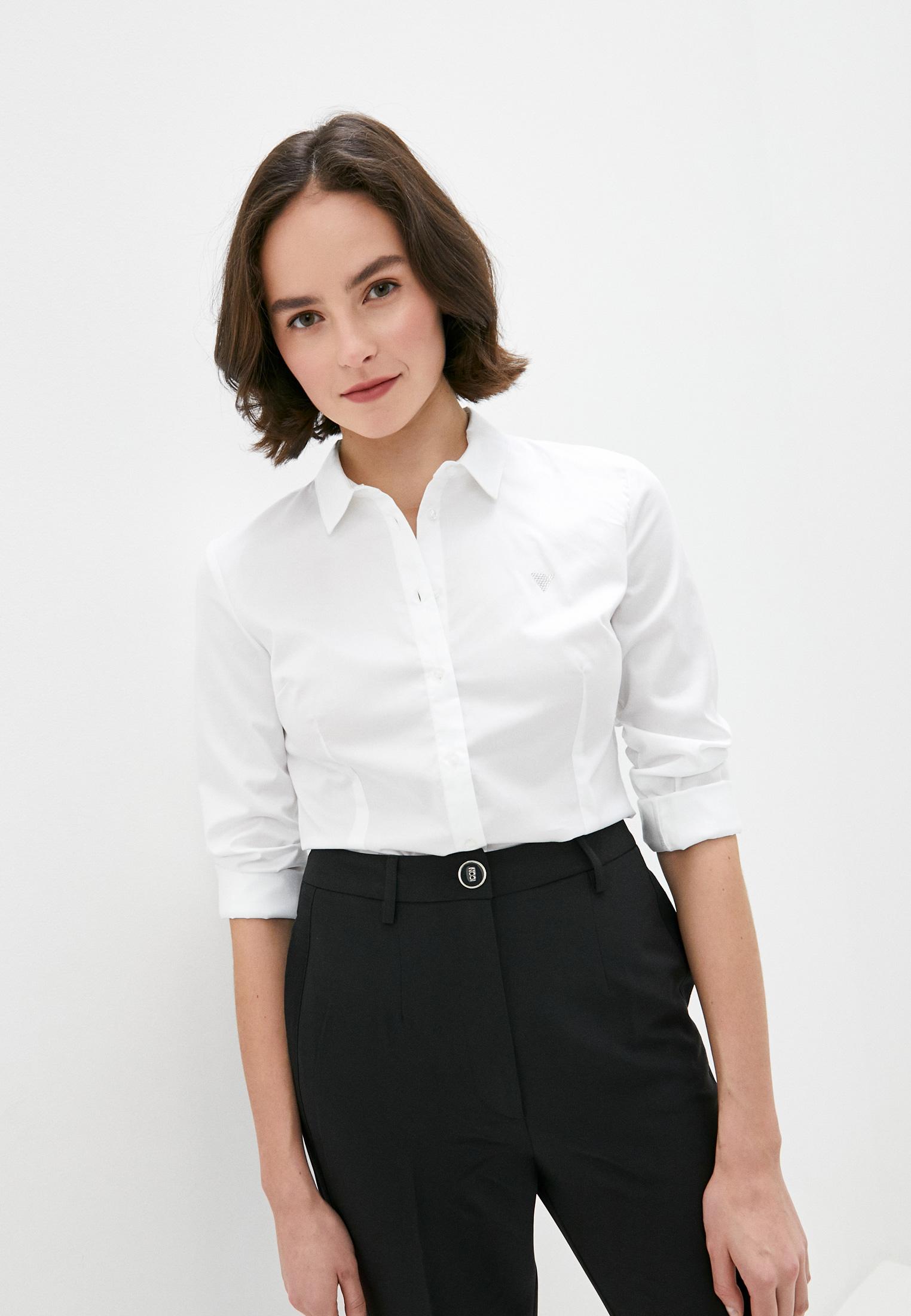 Женские рубашки с длинным рукавом Guess Jeans W0GH41 WAF10
