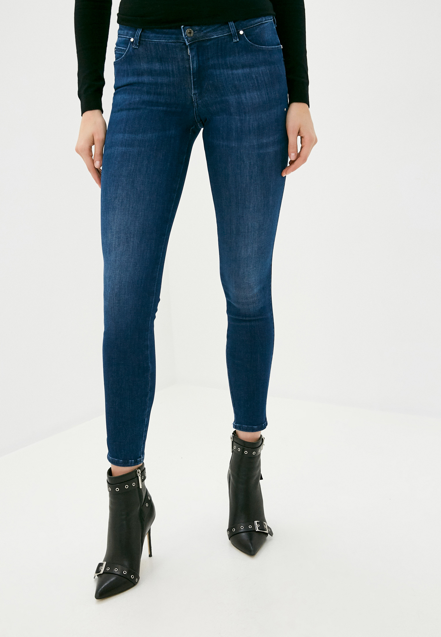 Зауженные джинсы Guess Jeans W0YA87 D42J1