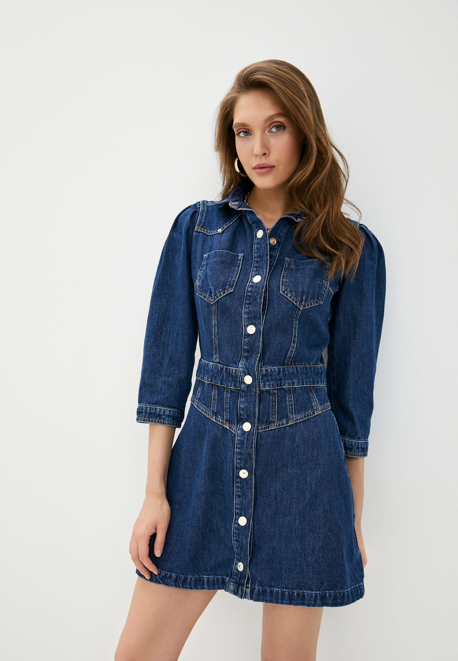 Платье Guess Jeans W0YK13 D3Y07