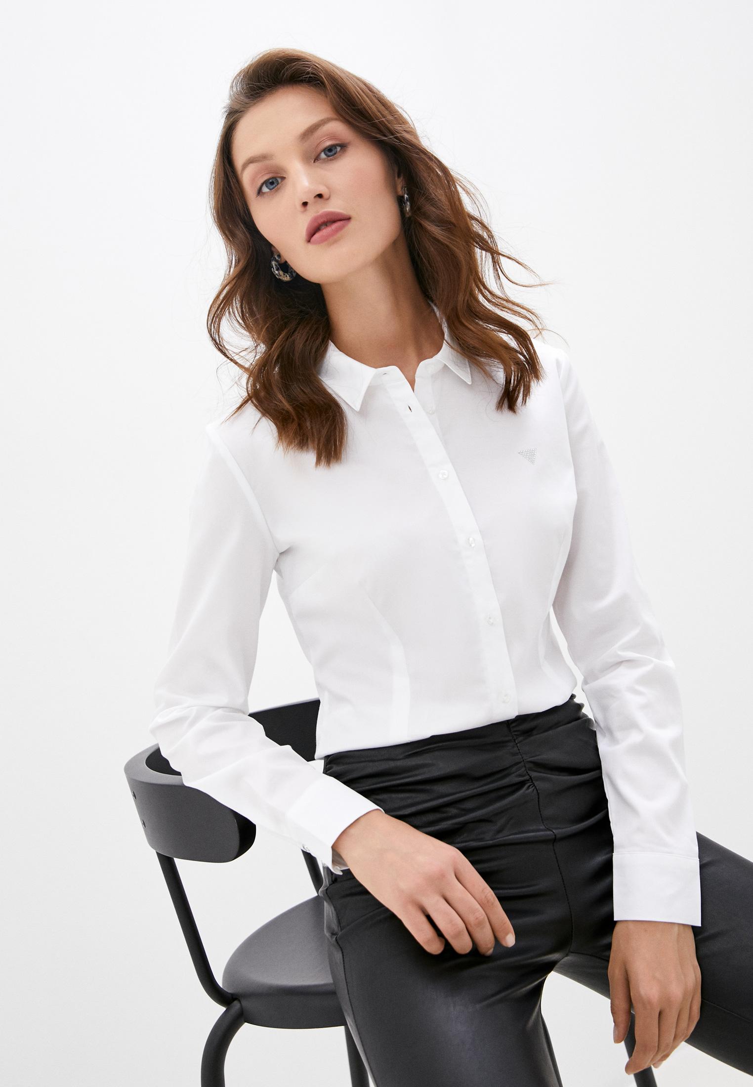 Женские рубашки с длинным рукавом Guess Jeans W0YH41 WAF10