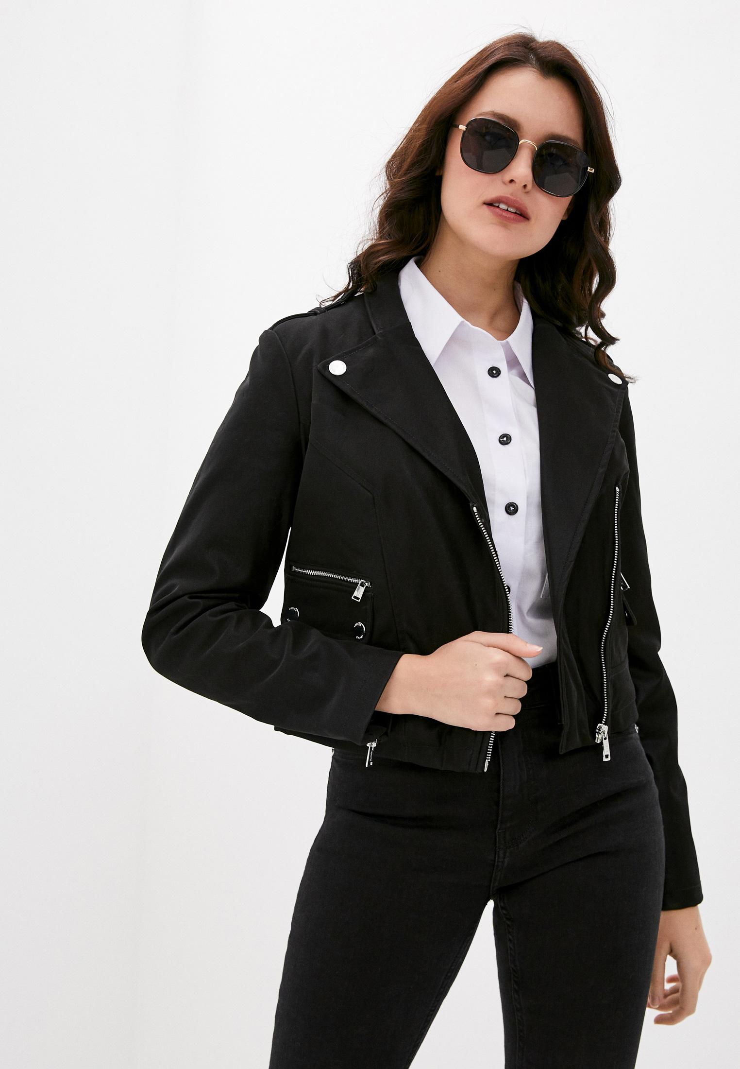Кожаная куртка Guess Jeans W0YL24 WD1P0