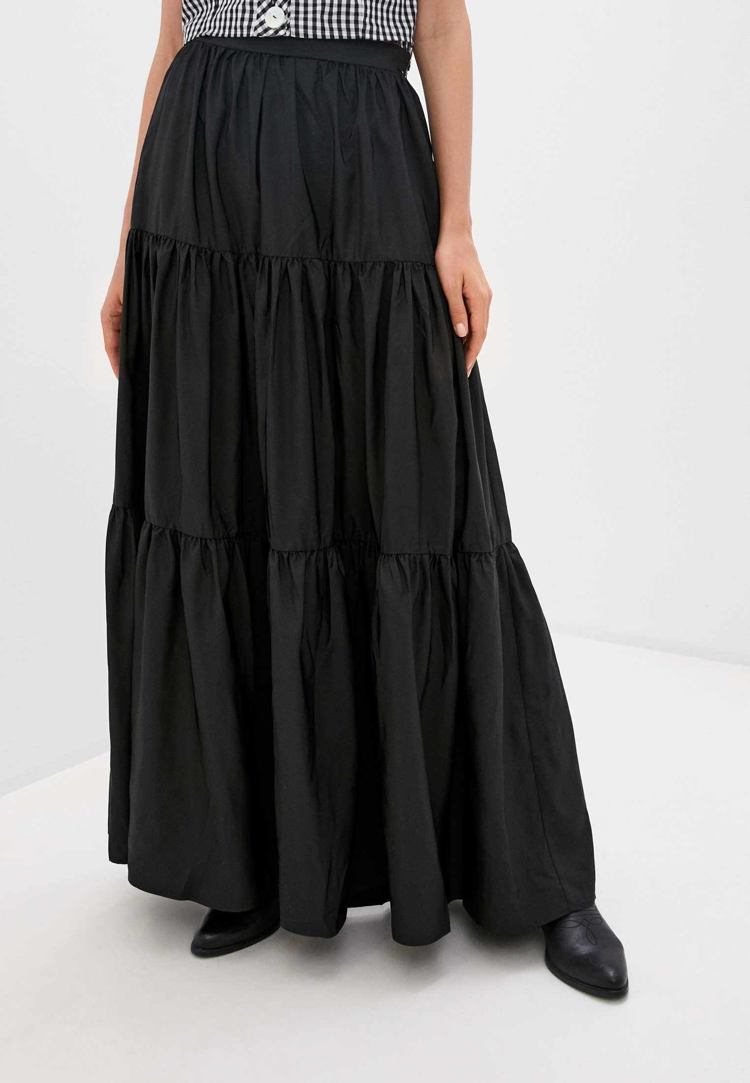 Широкая юбка Guess Jeans W0YD81 WD2R2