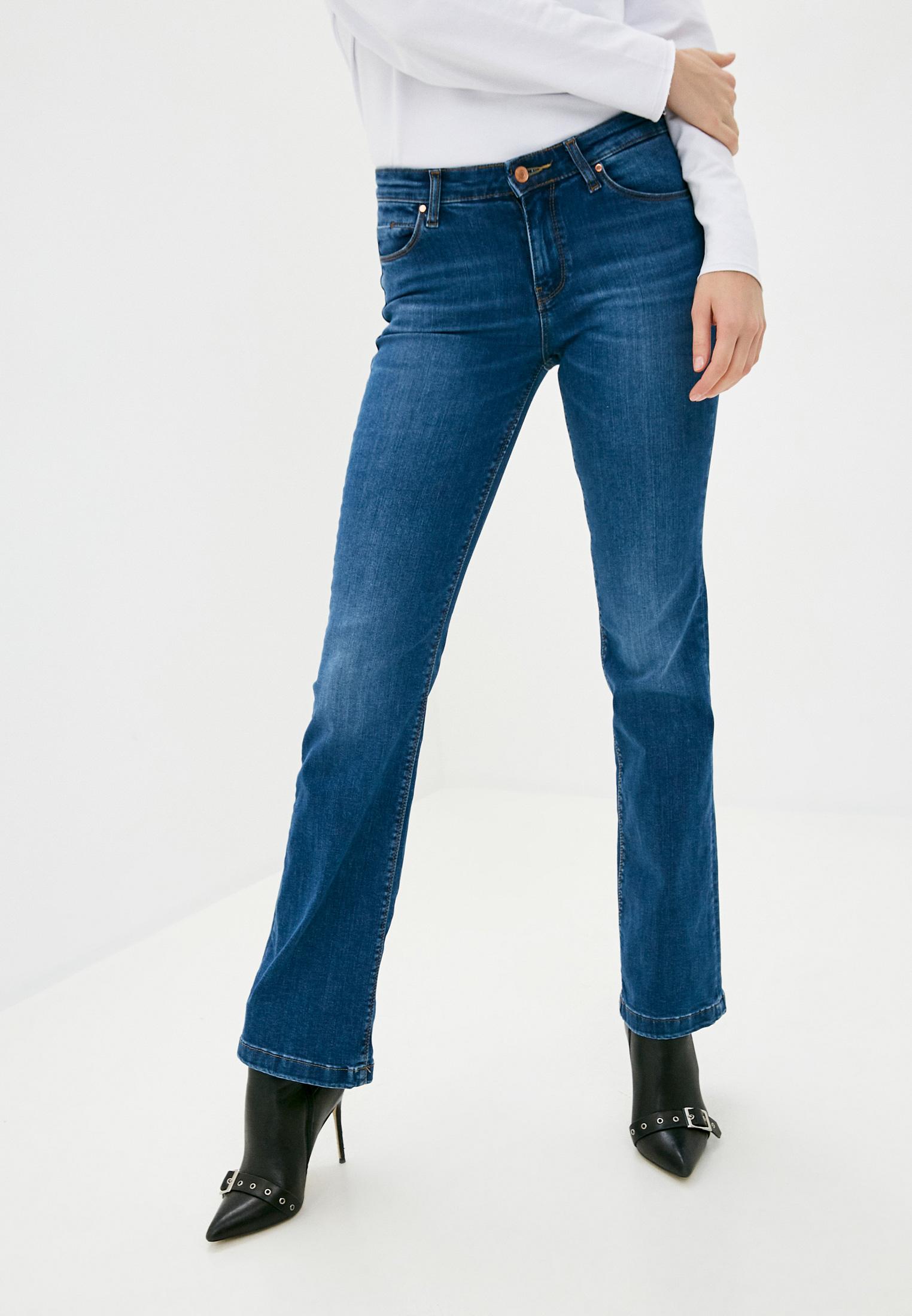 Широкие и расклешенные джинсы Guess Jeans W0YA58 D4484