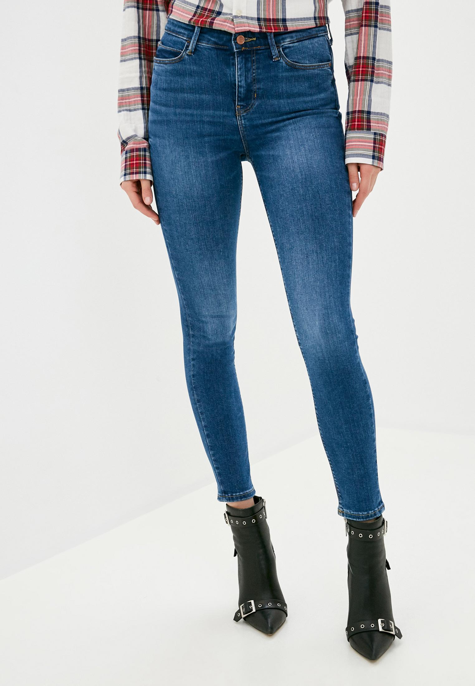 Зауженные джинсы Guess Jeans W0YA46 D4484