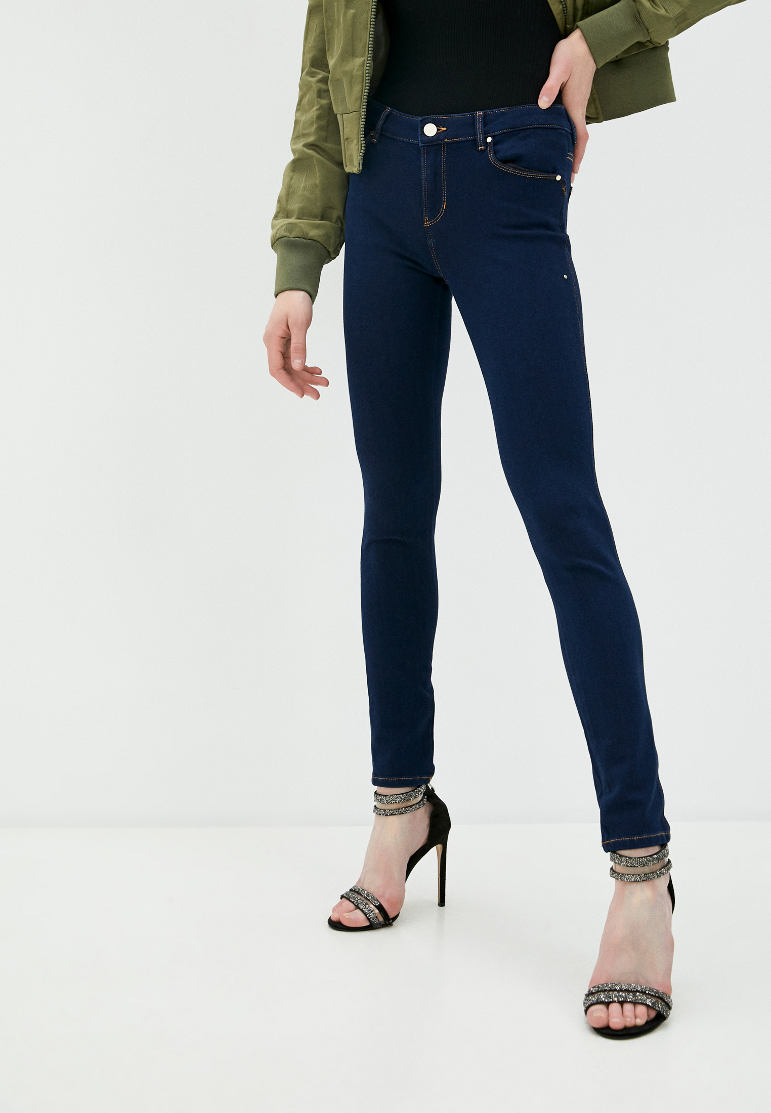 Зауженные джинсы Guess Jeans W0YAJ2 D42I1