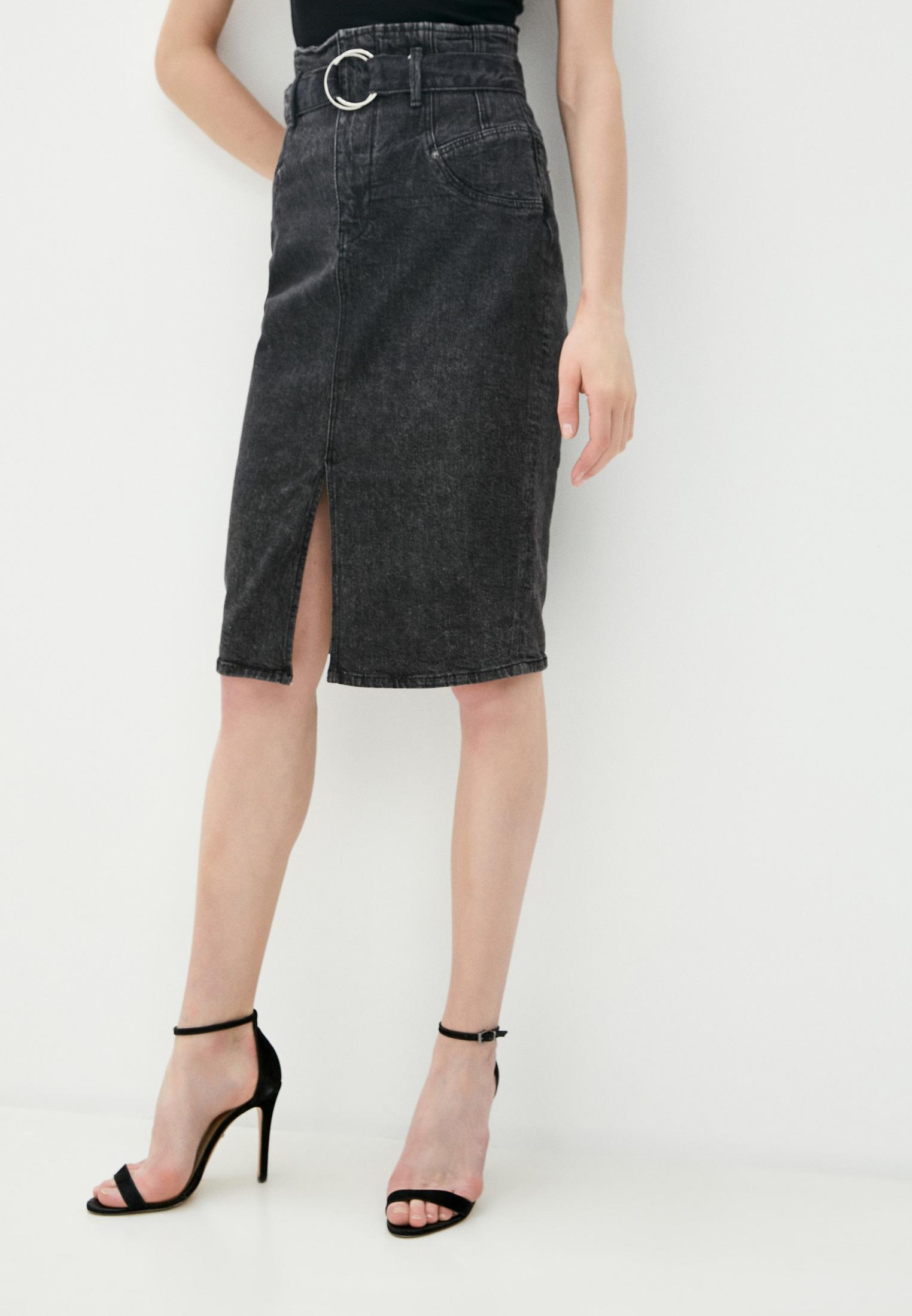 Джинсовая юбка Guess Jeans W0YD47 D42K2