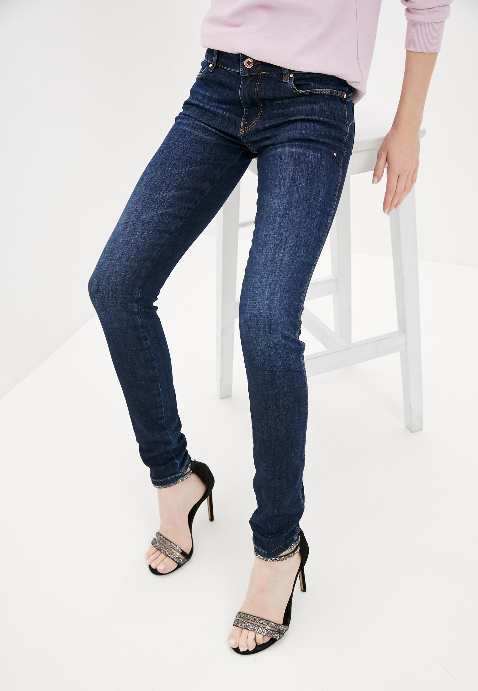 Зауженные джинсы Guess Jeans W1RA37 D4AK1