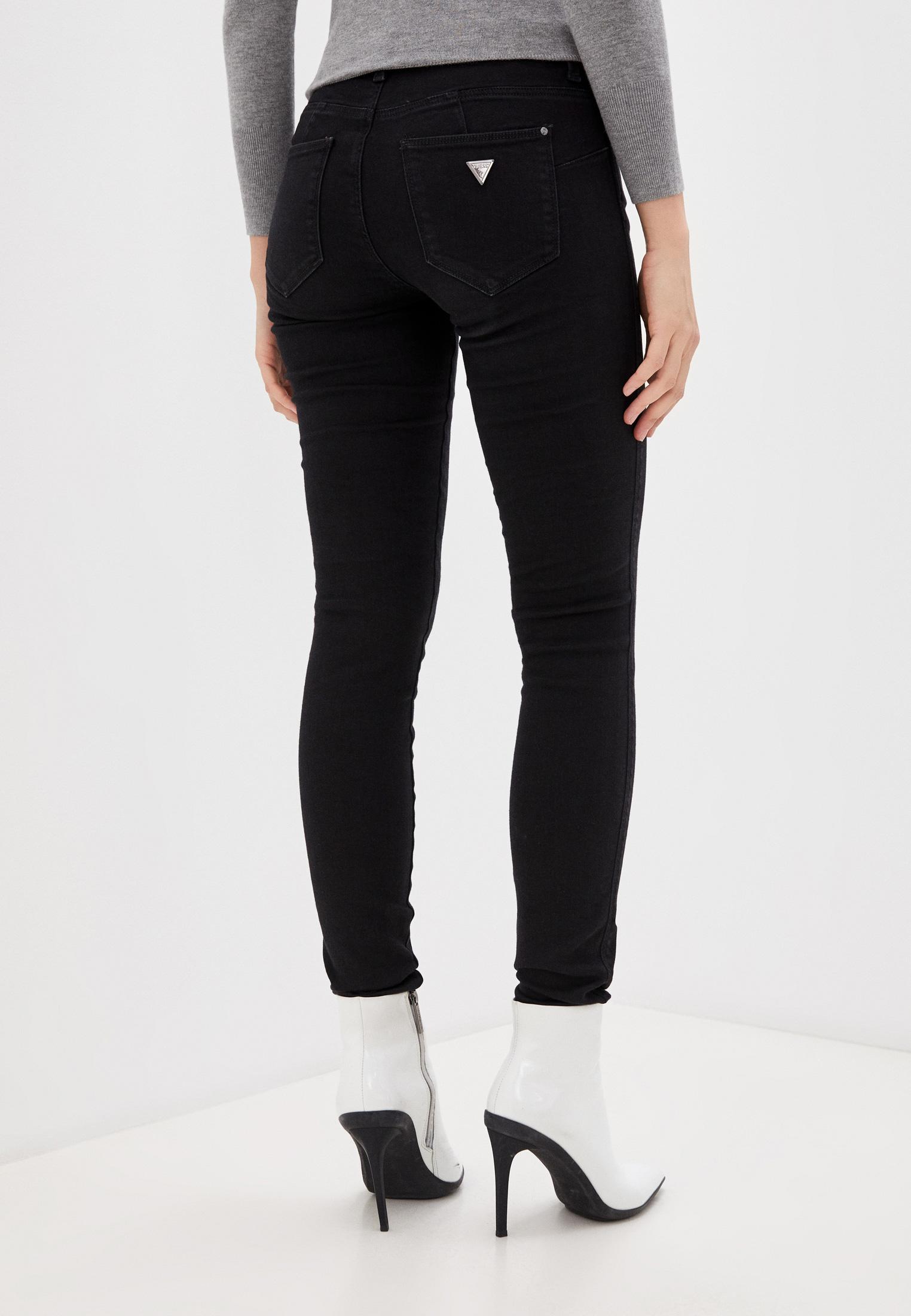 Зауженные джинсы Guess Jeans W1RAJ2 D4B22: изображение 3