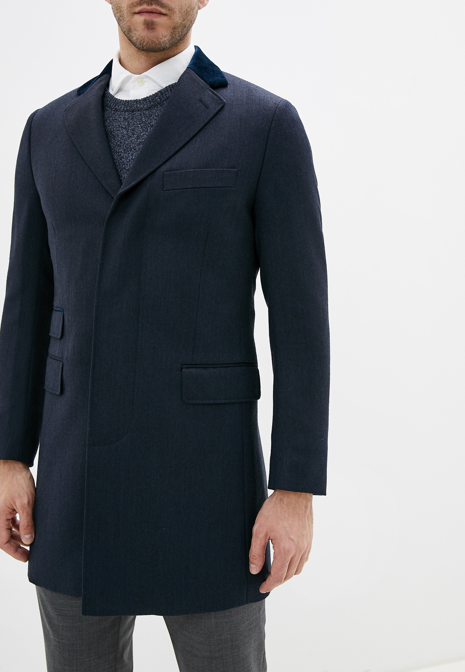 Мужские пальто Hackett London HM402071R