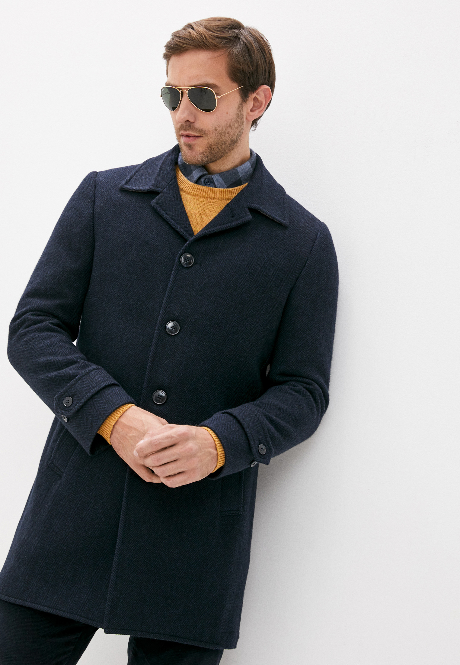 Мужские пальто Hackett London HM402538R