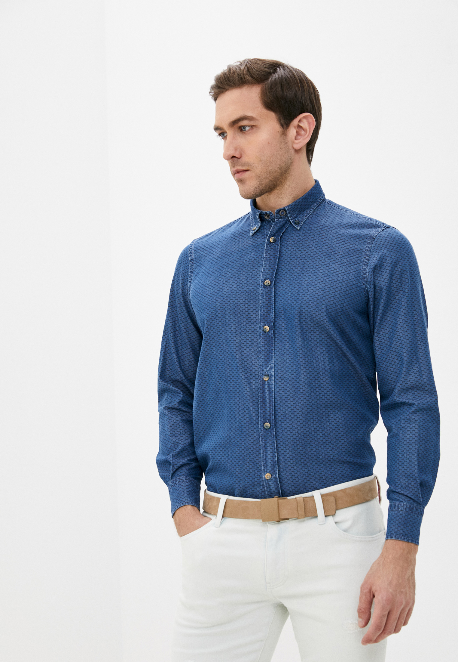 Рубашка с длинным рукавом Harmont&Blaine CRA001001247