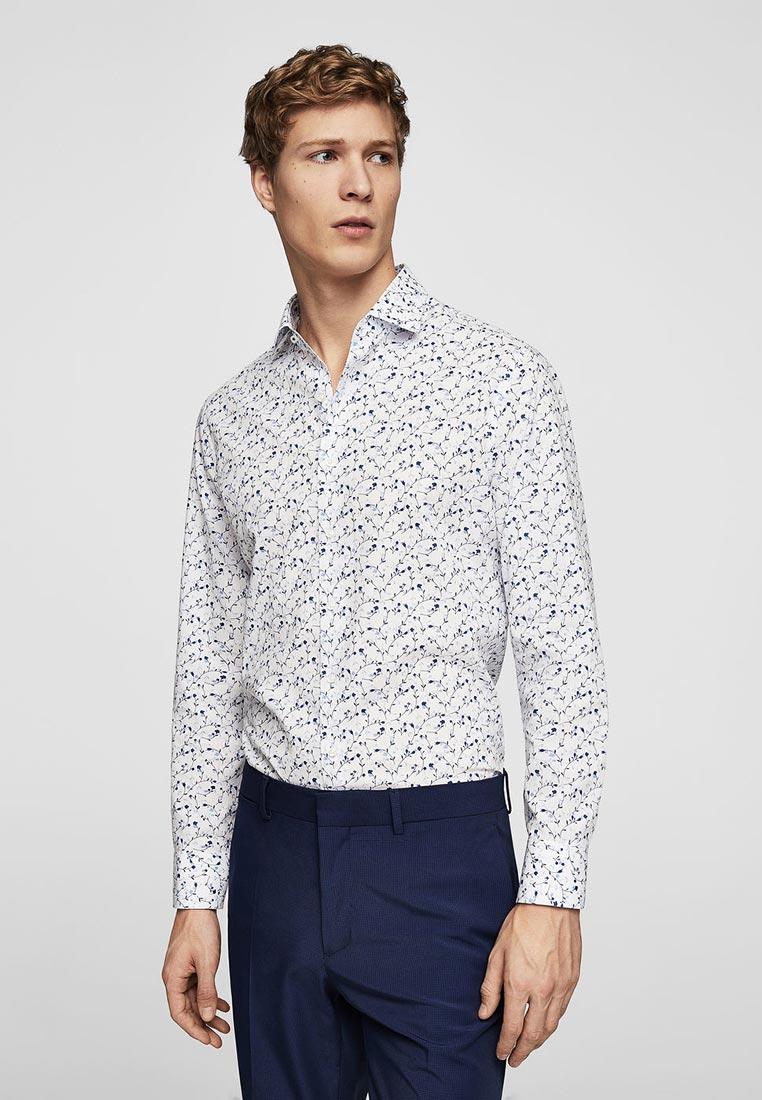 Рубашка с длинным рукавом Mango Man 23075623: изображение 1