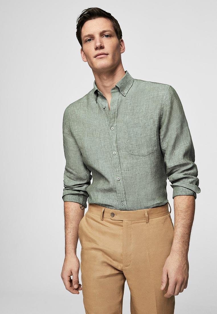 Рубашка с длинным рукавом Mango Man 23015658: изображение 1