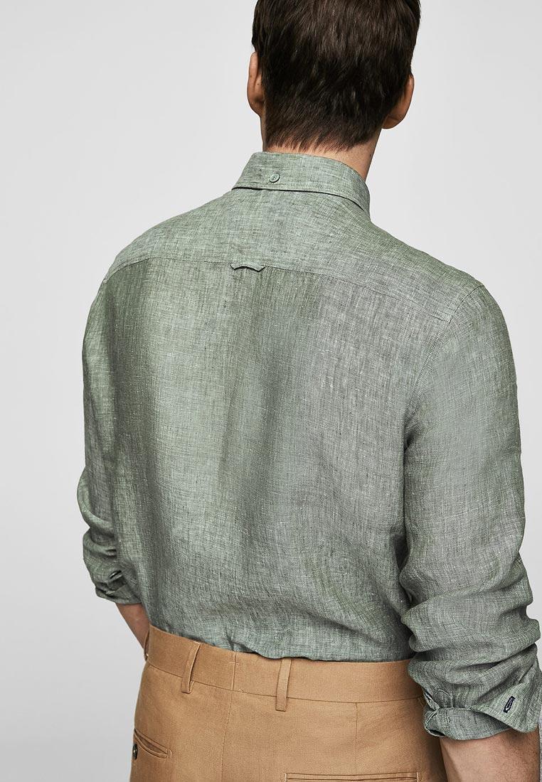 Рубашка с длинным рукавом Mango Man 23015658: изображение 2