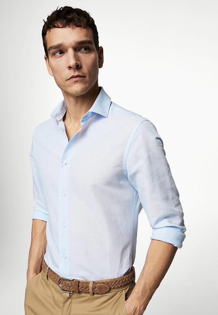 Рубашка с длинным рукавом Mango Man 23027686: изображение 1