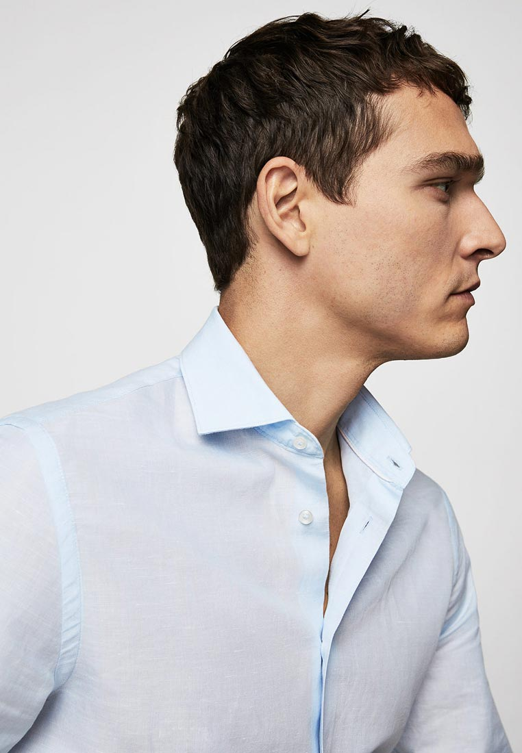 Рубашка с длинным рукавом Mango Man 23027686: изображение 2