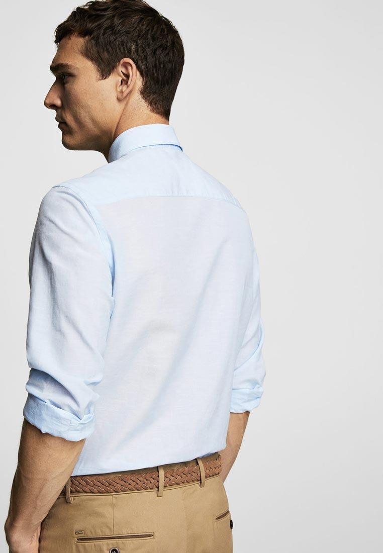 Рубашка с длинным рукавом Mango Man 23027686: изображение 3