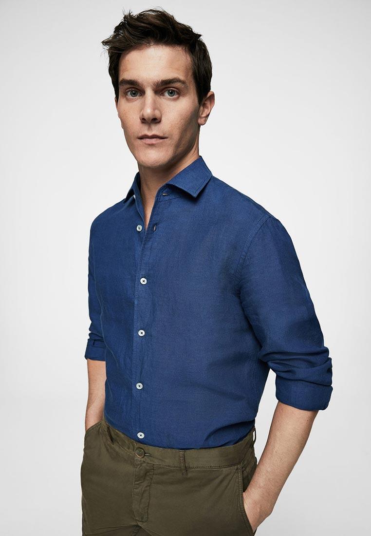 Рубашка с длинным рукавом Mango Man 23097678: изображение 1