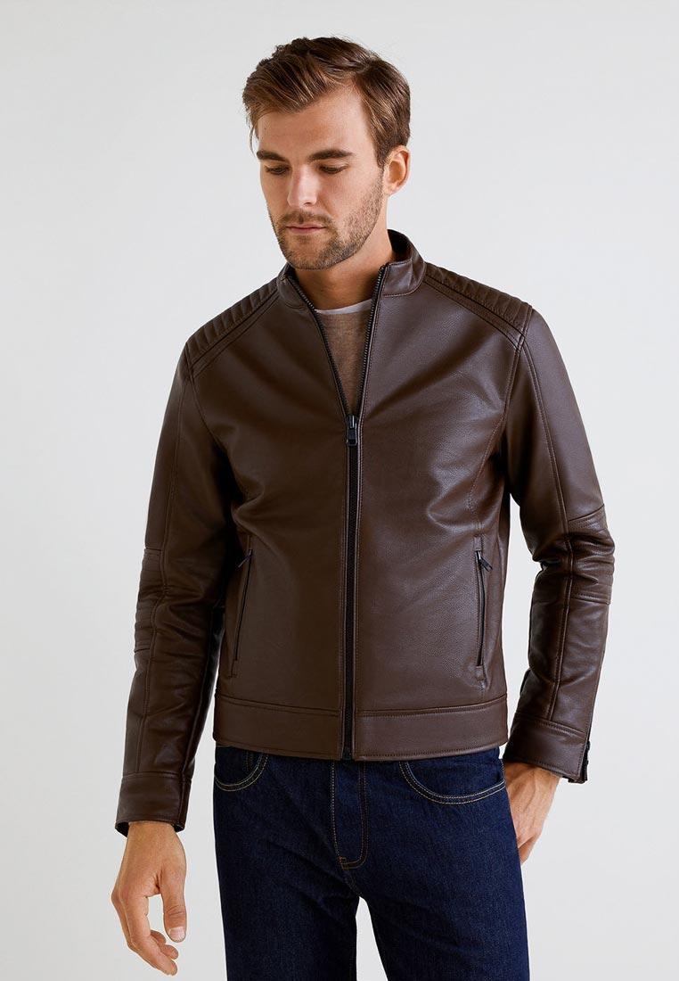 Кожаная куртка Mango Man 33020477