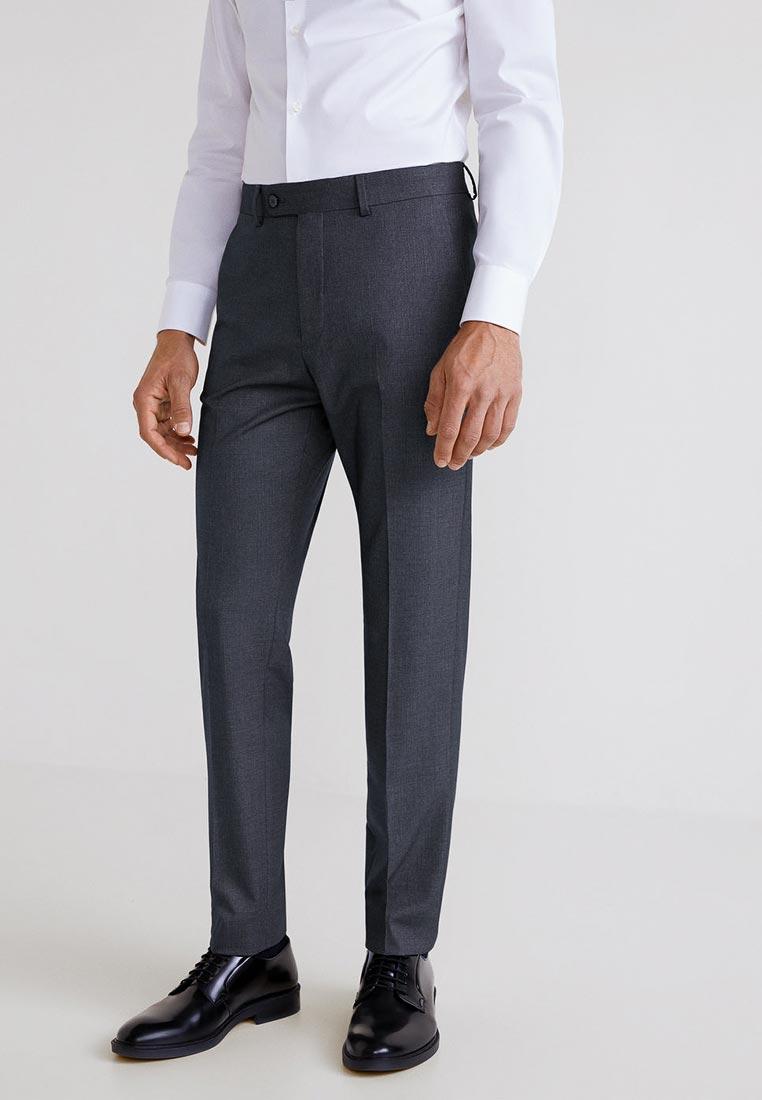 Мужские зауженные брюки Mango Man 33030511