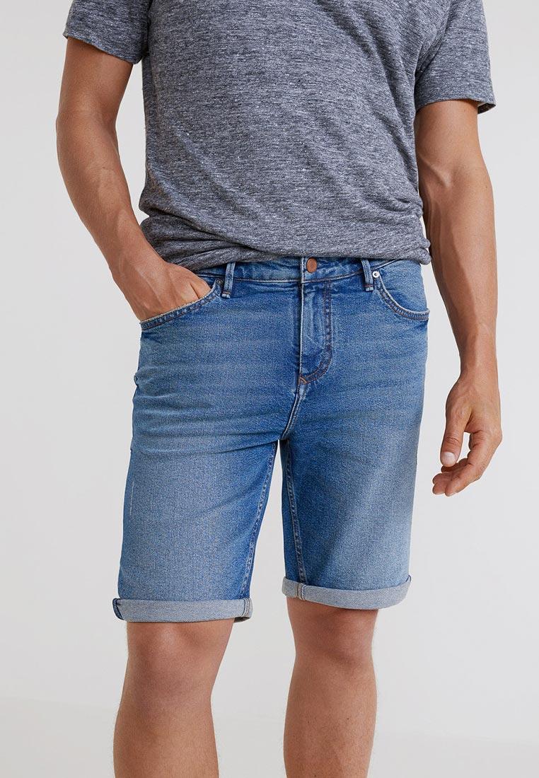 Мужские джинсовые шорты Mango Man 33030548