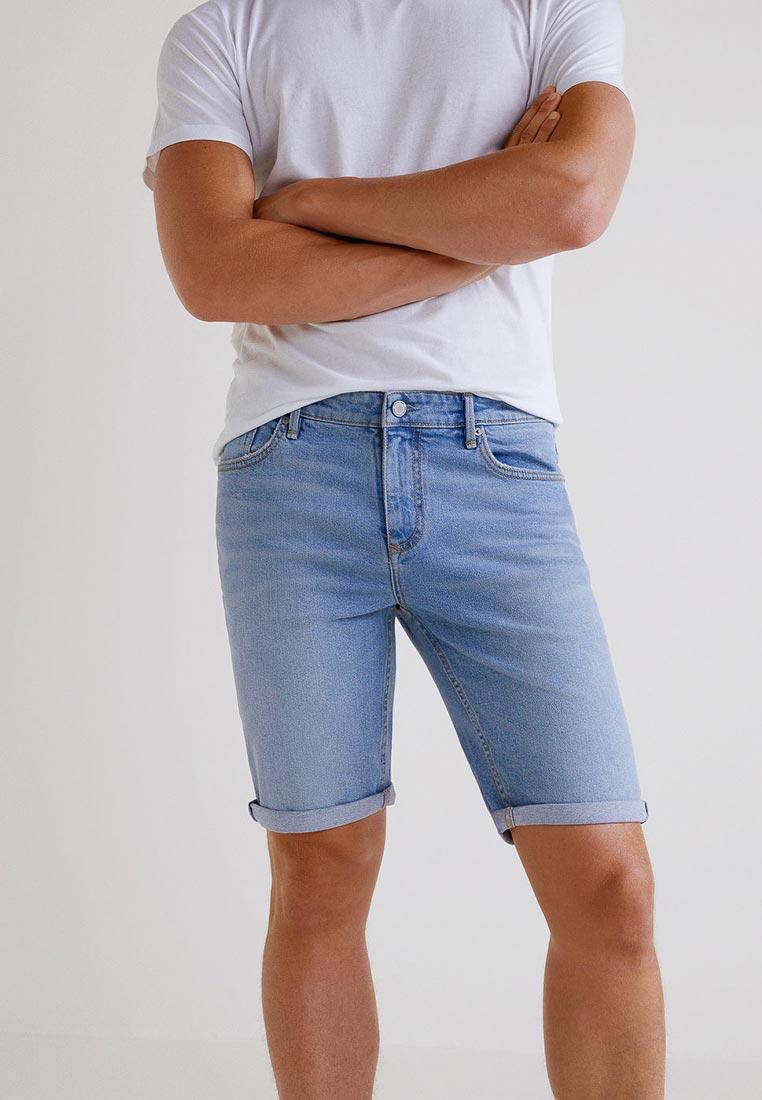 Мужские джинсовые шорты Mango Man 33080551