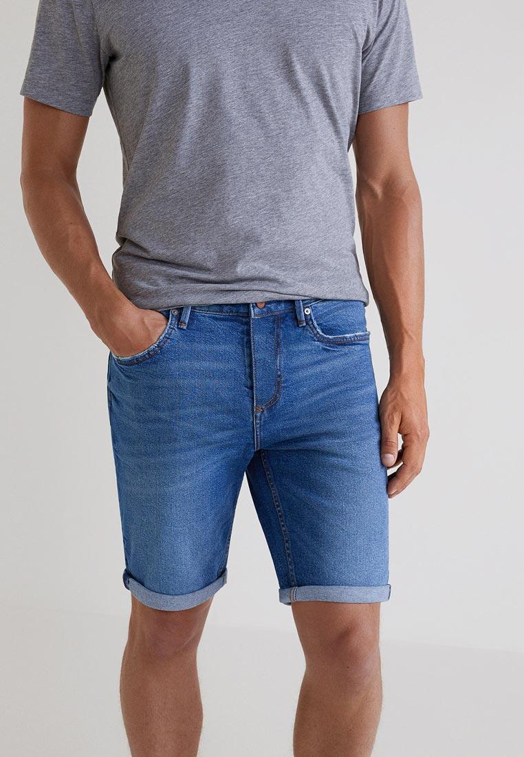 Мужские джинсовые шорты Mango Man 33040549