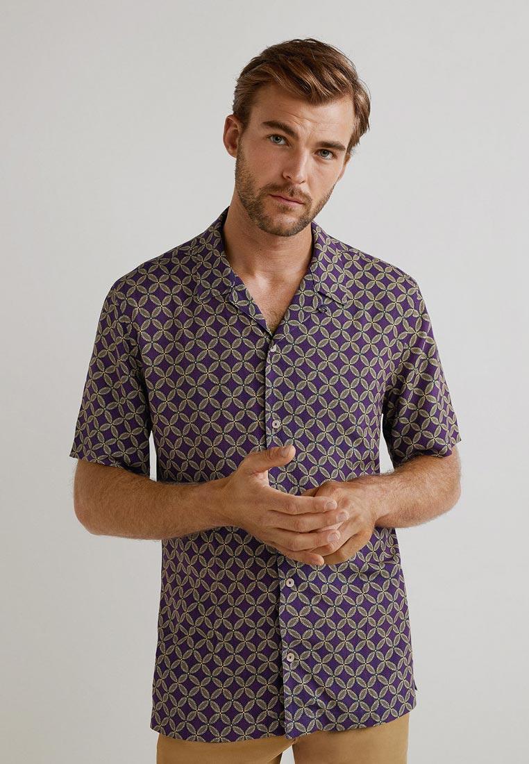 Рубашка с коротким рукавом Mango Man 33060778