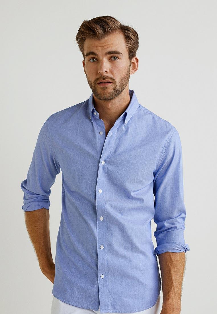 Рубашка с длинным рукавом Mango Man 33033742