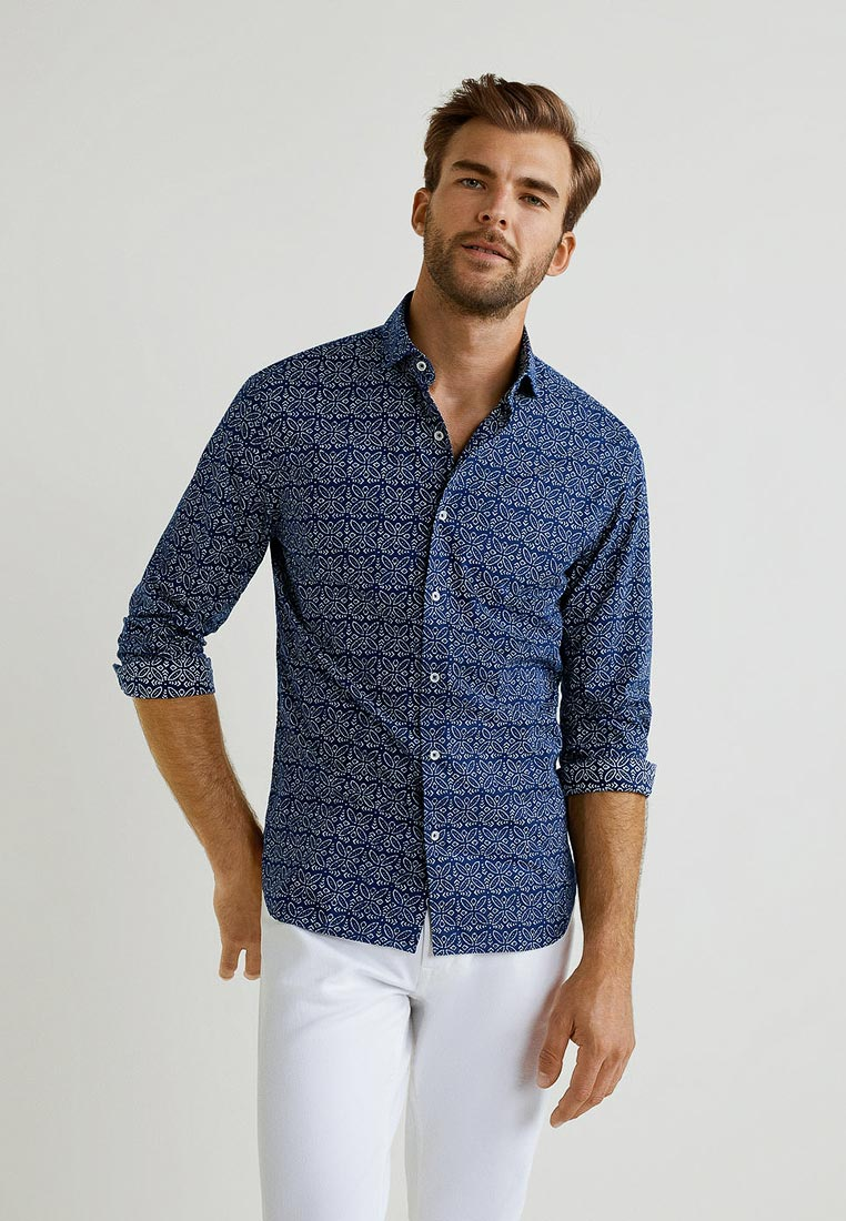 Рубашка с длинным рукавом Mango Man 33023733