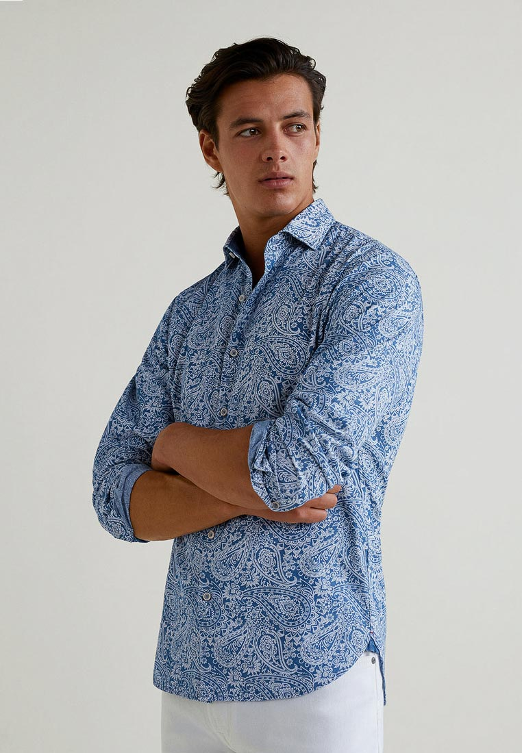 Рубашка с длинным рукавом Mango Man 33033732