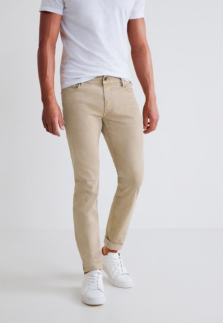 Мужские зауженные брюки Mango Man 33043799