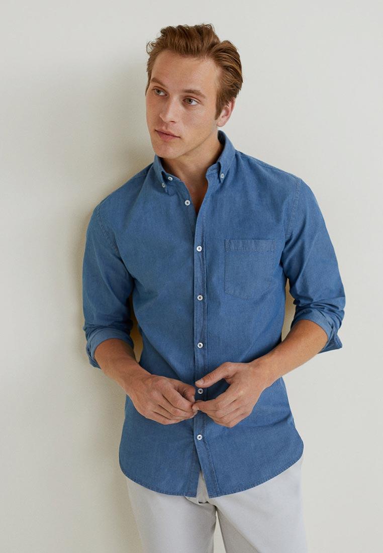 Рубашка с длинным рукавом Mango Man 33013735