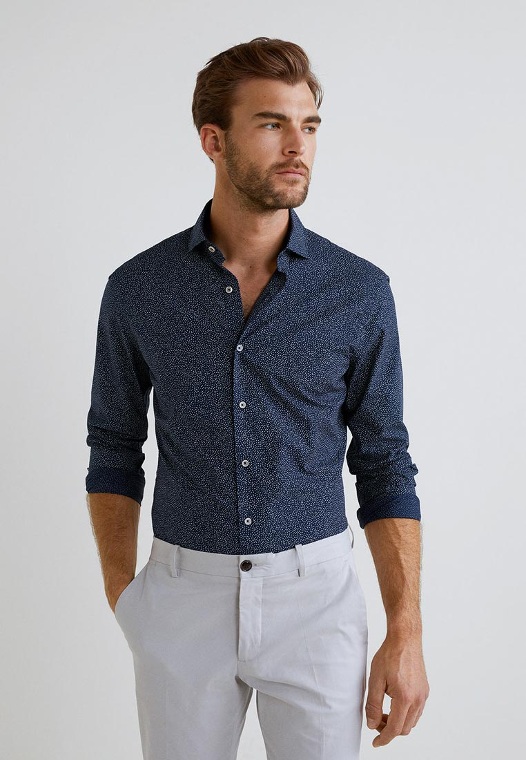 Рубашка с длинным рукавом Mango Man 33023734