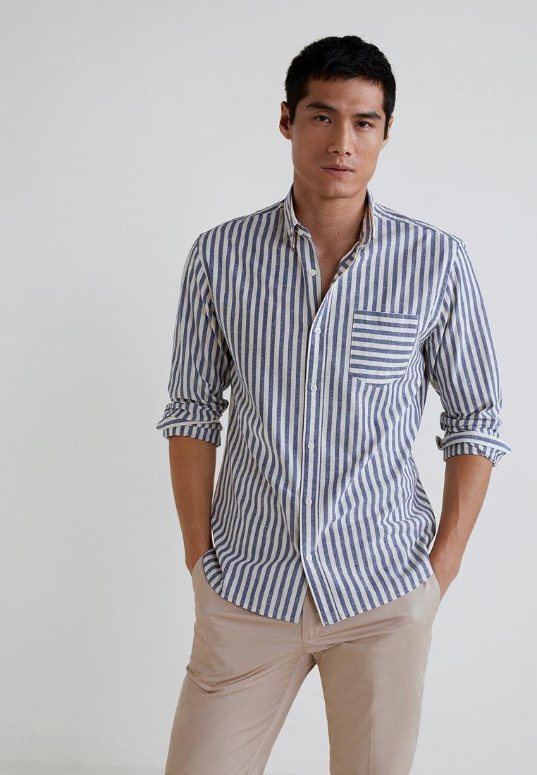 Рубашка с длинным рукавом Mango Man 33025725