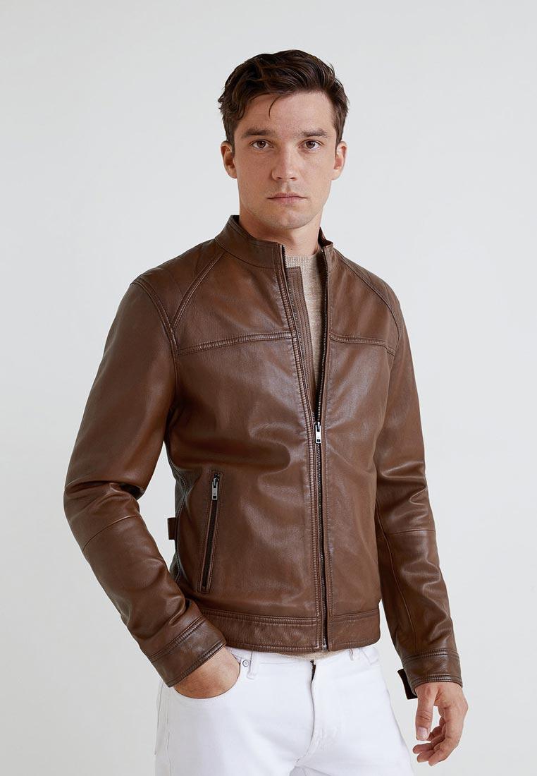 Кожаная куртка Mango Man 33073782