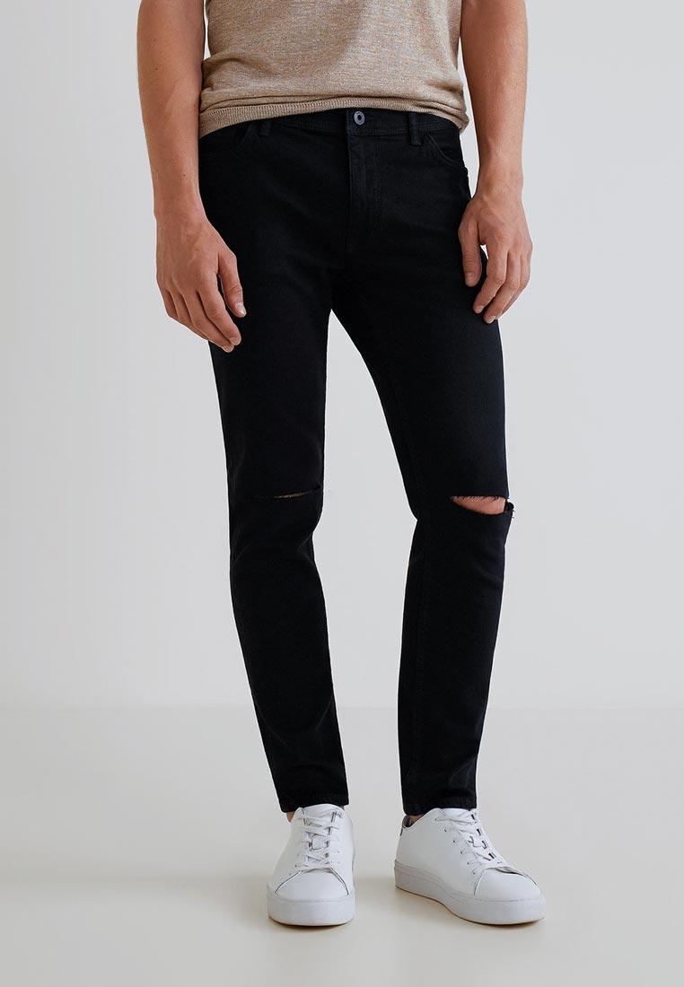 Зауженные джинсы Mango Man 33043800: изображение 1