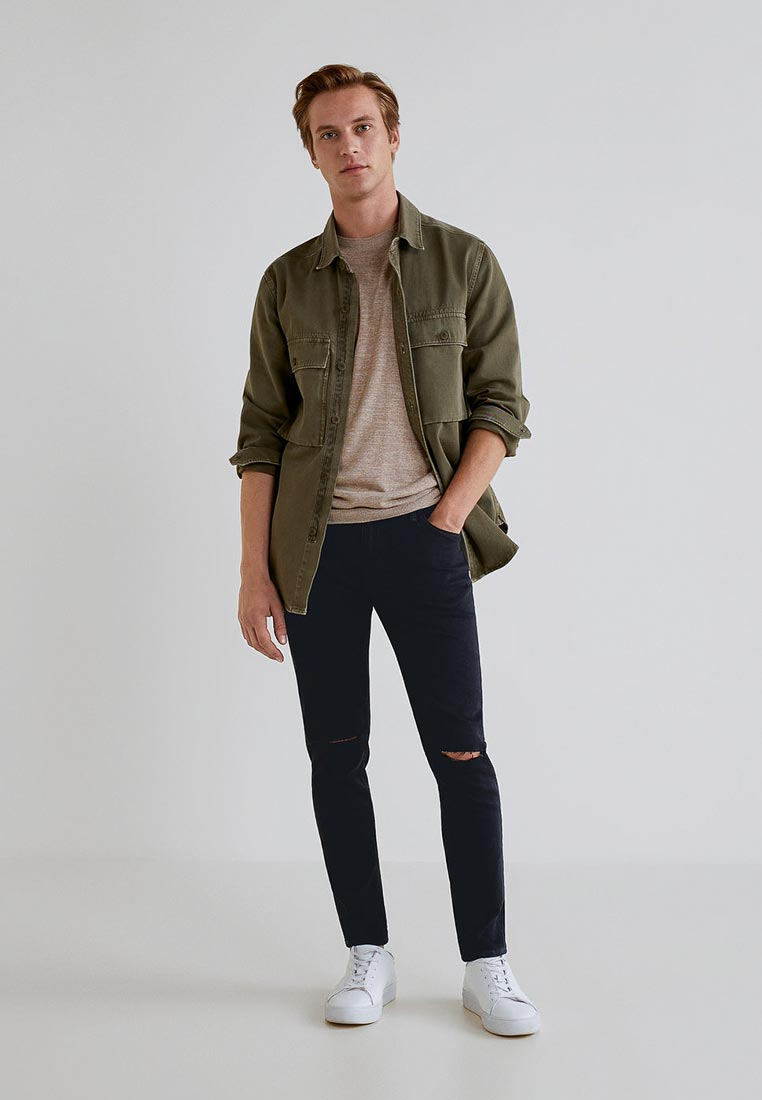 Зауженные джинсы Mango Man 33043800: изображение 2