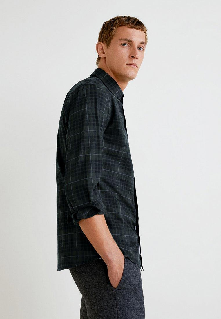 Рубашка с длинным рукавом Mango Man 33017638