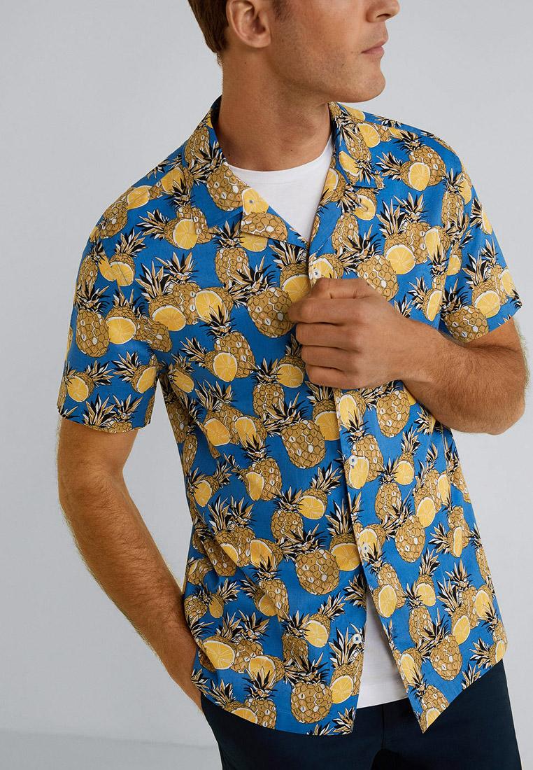 Рубашка с коротким рукавом Mango Man 53020705