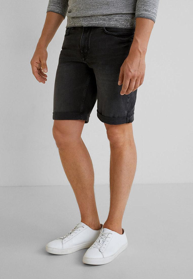 Мужские джинсовые шорты Mango Man 53060560: изображение 1