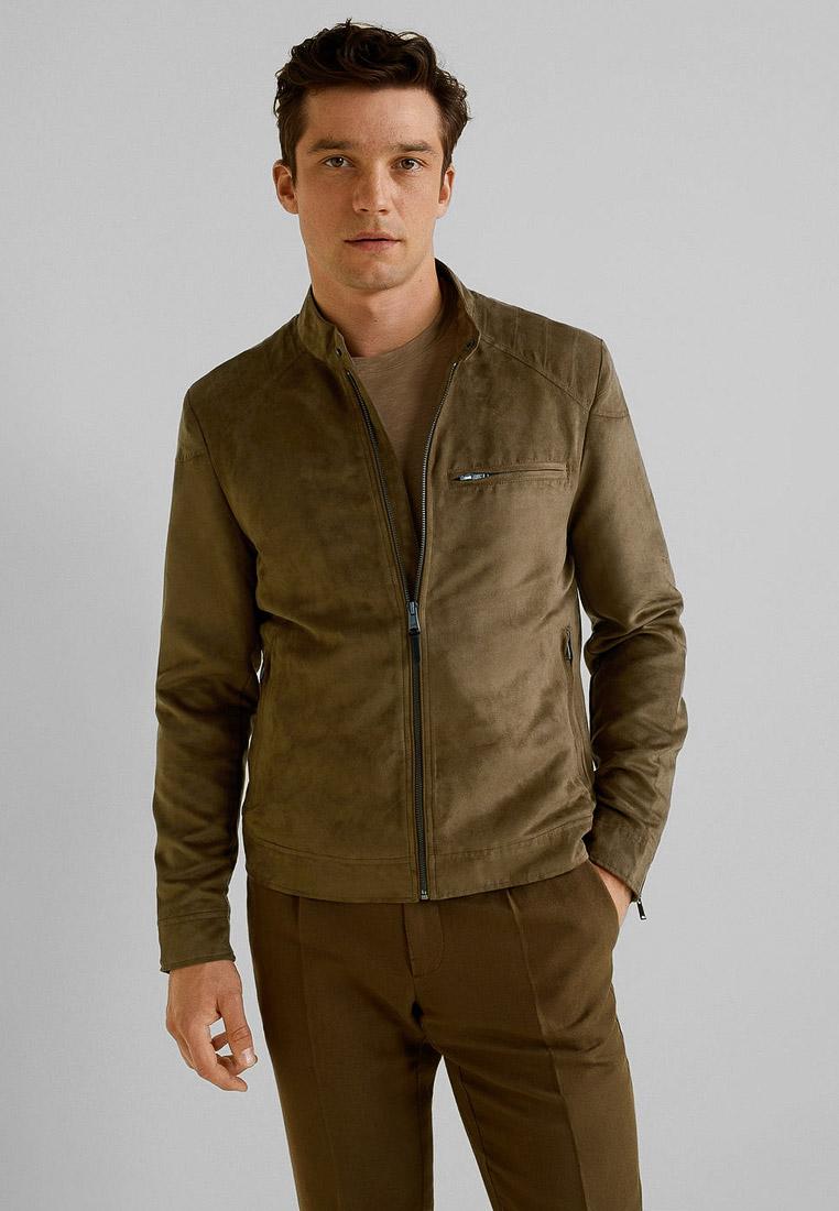 Кожаная куртка Mango Man 53060503